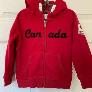 Canada child hoodie size 3 T